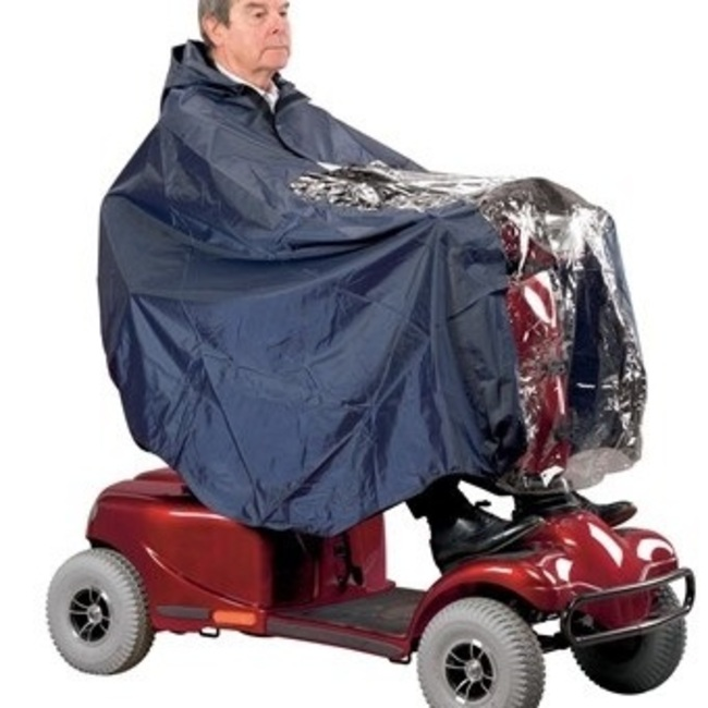 PONCHO/CAPE POUR SCOOTER.